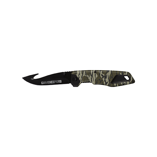 Gamekeeper Point Folding Knife Mossy Oak Bottomland