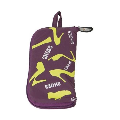 Travelon Pocket Packs Shoe Bag - Purple