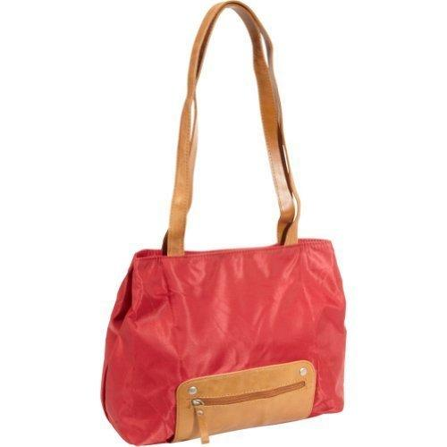 Travelon Twenty9Five Piegare Mini Tote (Red)
