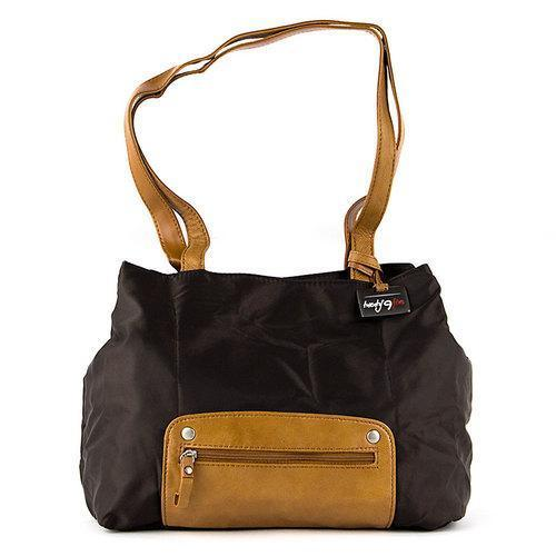 Travelon Twenty9Five Piegare Mini Tote (Brown)