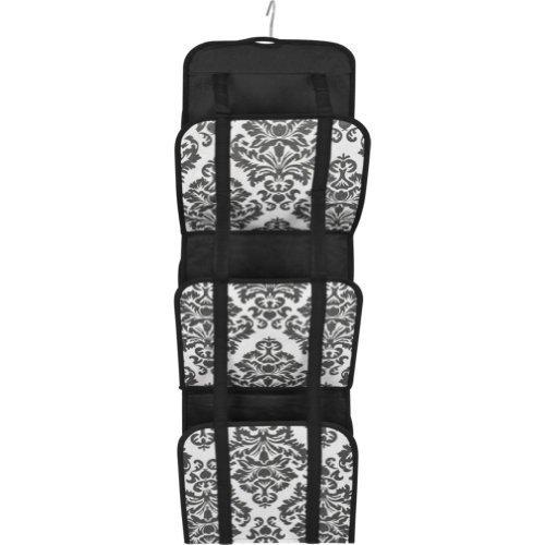 Travelon Hanging Handbag Organizer - Set of 2 (Black Damask)