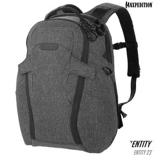 Maxpedition Entity 23 CCW-Enabled Laptop Backpk 23L Charcoal