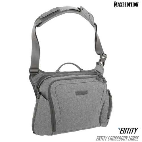 Maxpedition ENTITY Crossbody Bag Large Ash
