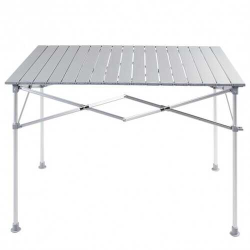 Aluminum Lightweight Folding Picnic Camping Table
