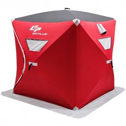 2-person Portable Ice Shelter Fishing Tent with Bag
