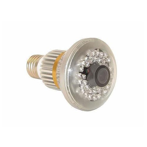 Motion Detect Nightvision Bulb CCTV Security Camera for Domestic Use