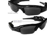 Easy Setup Hands-free Sport Video Camcorder Sunglasses USB Compatible
