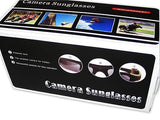 Polarized Video Recorder Sunglasses w/ Rechargeable Lithium Battery