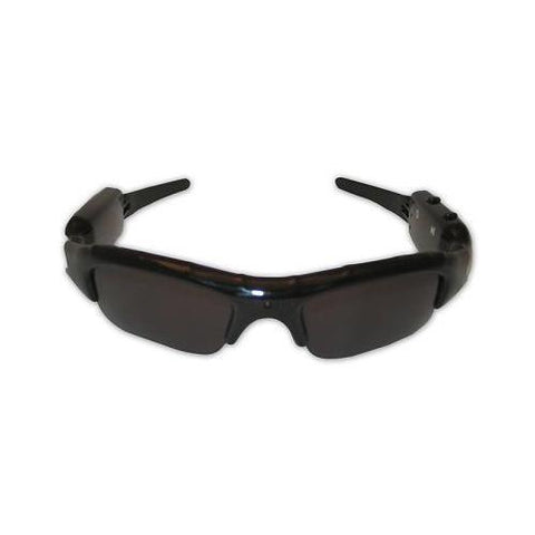 Rechargeable Sunglasses Video Voice Recorder with MicroSD Slot