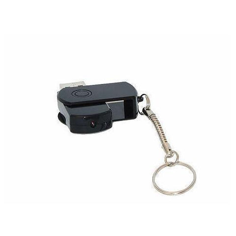 Rechargeable Micro USB Flash Drive Spy Cam DVR with PC Webcam Function