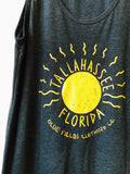 ✨New✨ Tallahassee Sun Tank Top- Dark Grey