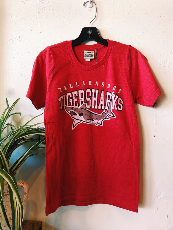 Tallahassee Tigersharks Tee- Red