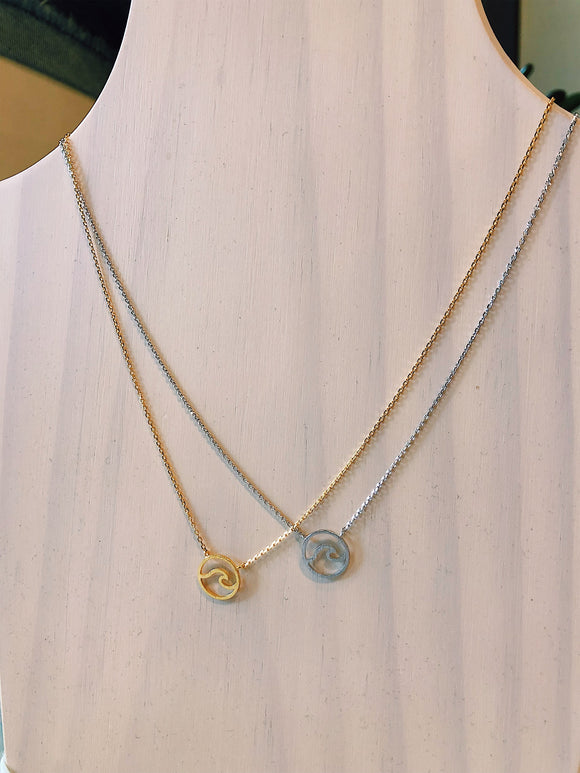Dainty Wave Necklace