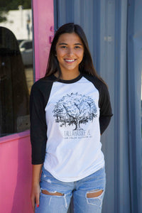 The Tallahassee Tree Baseball Tee