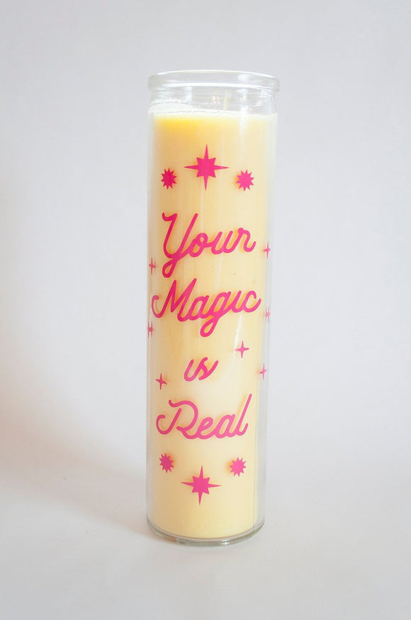 Prayer Candle- Your Magic Is Real