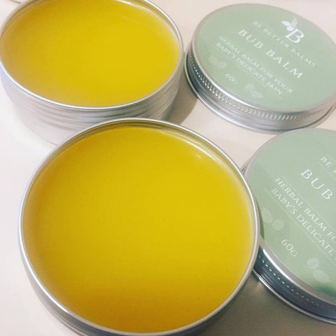 baby balm with calendula oil