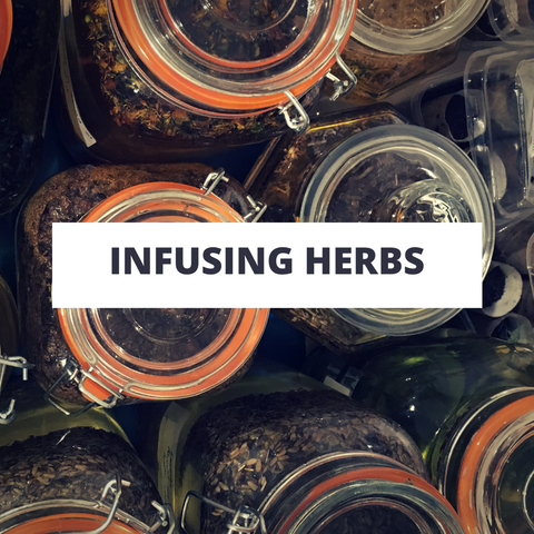 infusing herbs cold infusion