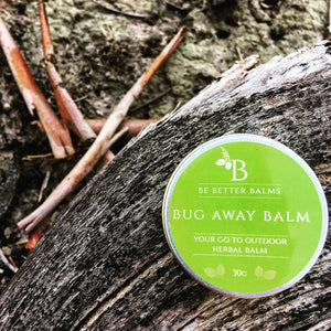 Bug Away Balm  Your go-to outdoor herbal balm