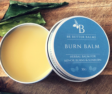 Burn Balm Herbal Balm for minor burns & sunburn