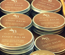 Load image into Gallery viewer, Foot Balm Herbal Balm for dry feet & cracked heels