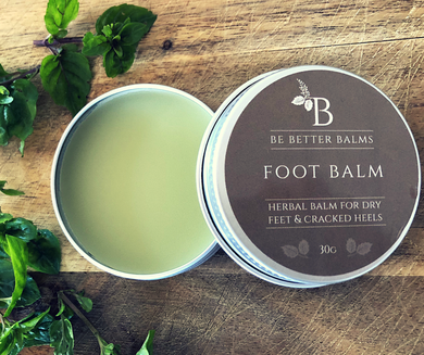 Foot Balm Herbal Balm for dry feet & cracked heels