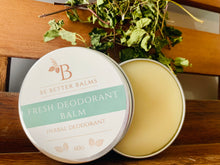 Load image into Gallery viewer, Fresh Deodorant Balm - Herbal Deodorant