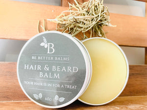 Hair & Beard Balm - Your hair is in for a treat!