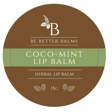Load image into Gallery viewer, Coco-Mint Lip Balm 15g - super hydrate your lips