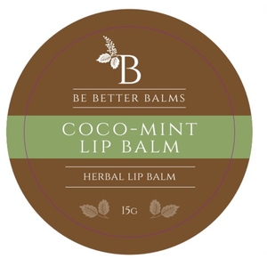 Coco-Mint Lip Balm 15g - super hydrate your lips