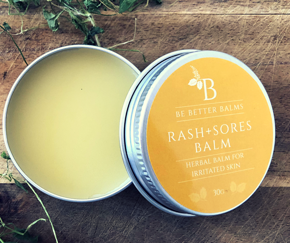 Rash+Sores Balm Herbal Balm for irritated skin