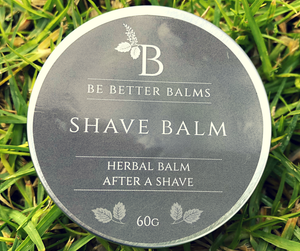 Shave Balm Herbal Balm after a shave
