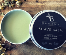 Load image into Gallery viewer, Shave Balm Herbal Balm after a shave