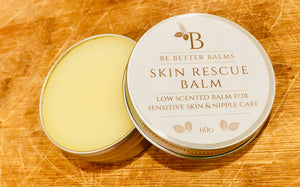 Skin Rescue Balm - Low scented balm for sensitive skin & nipple care