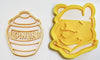 "6x Gucci Luxury Fashion Fondant Cutter Cupcake Topper Size 1.75"" USA FD2885"