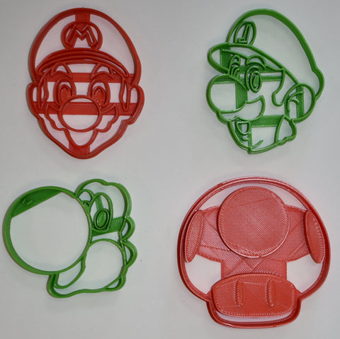 "PJ Masks Masks with Details Kids TV Show Characters Owlette Catboy Gekko Set Of 3 Special Occasion Fondant Stamp Cutter or Cupcake Topper Size 1.75"" Made in USA FD1053"