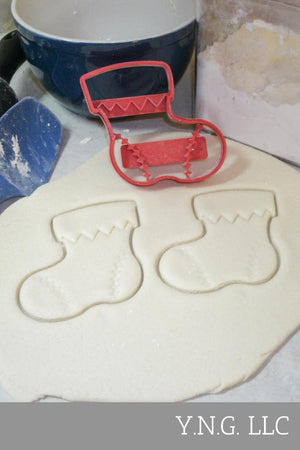 Stocking Christmas Gift Santa Cookie Cutter Special Occasion 3D Printed Made in US PR122