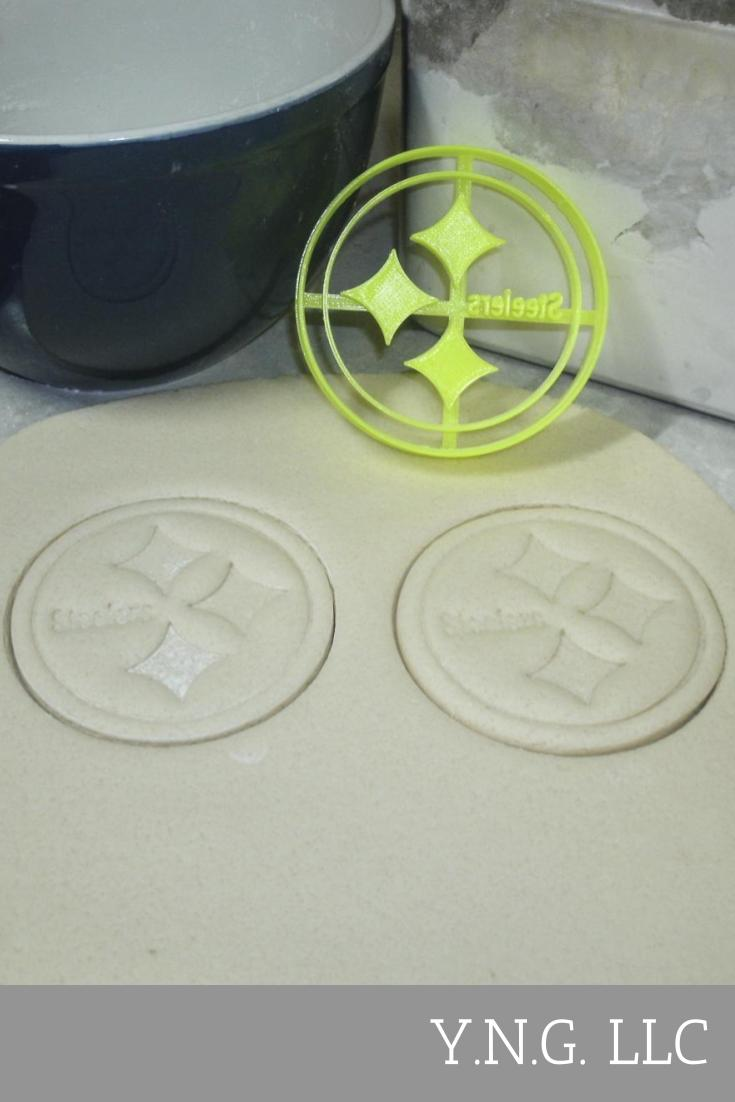 Pittsburgh Steelers NFL AFC Football Sports Team Logo Special Occasion Cookie Cutter Baking Tool 3D Printed Made In USA PR883