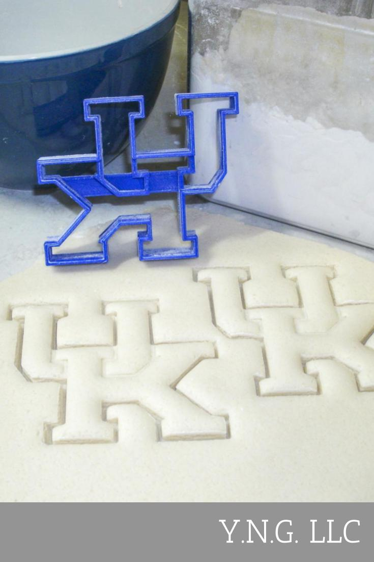 UK Kentucky Wildcats Football Sports Team Logo Special Occasion Cookie Cutter Baking Tool Made In USA PR920