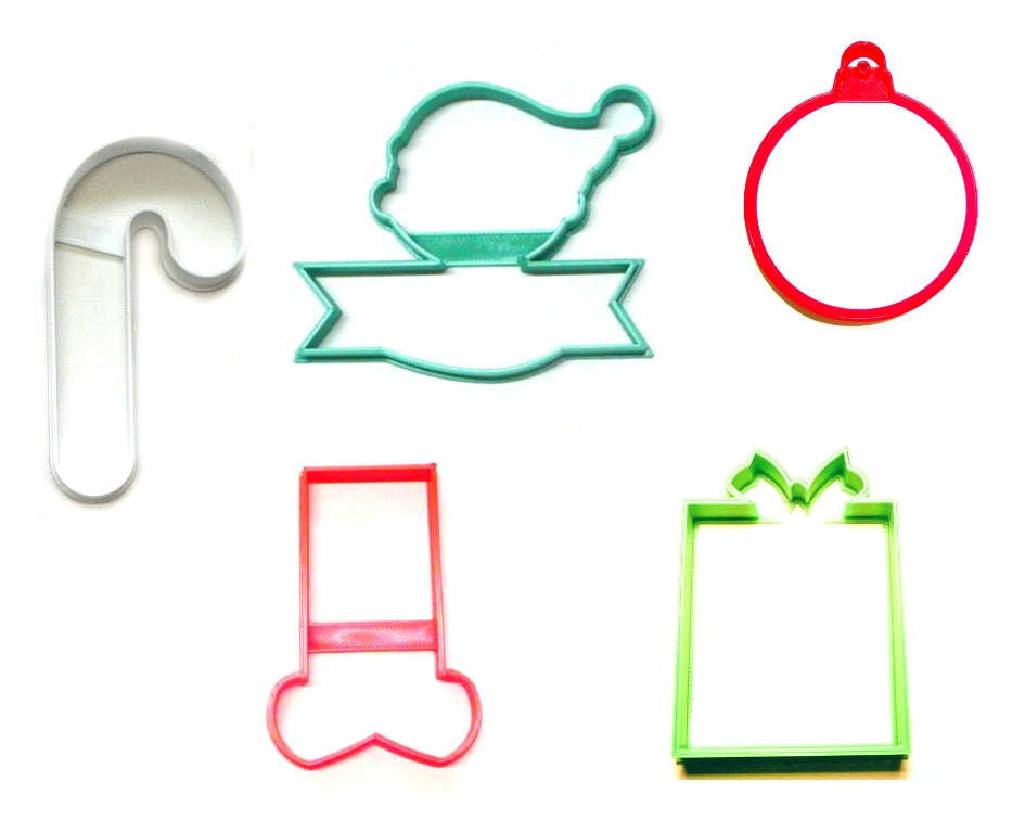 Elf Kit Santa Helper Christmas Set Of 5 Cookie Cutters USA PR1396