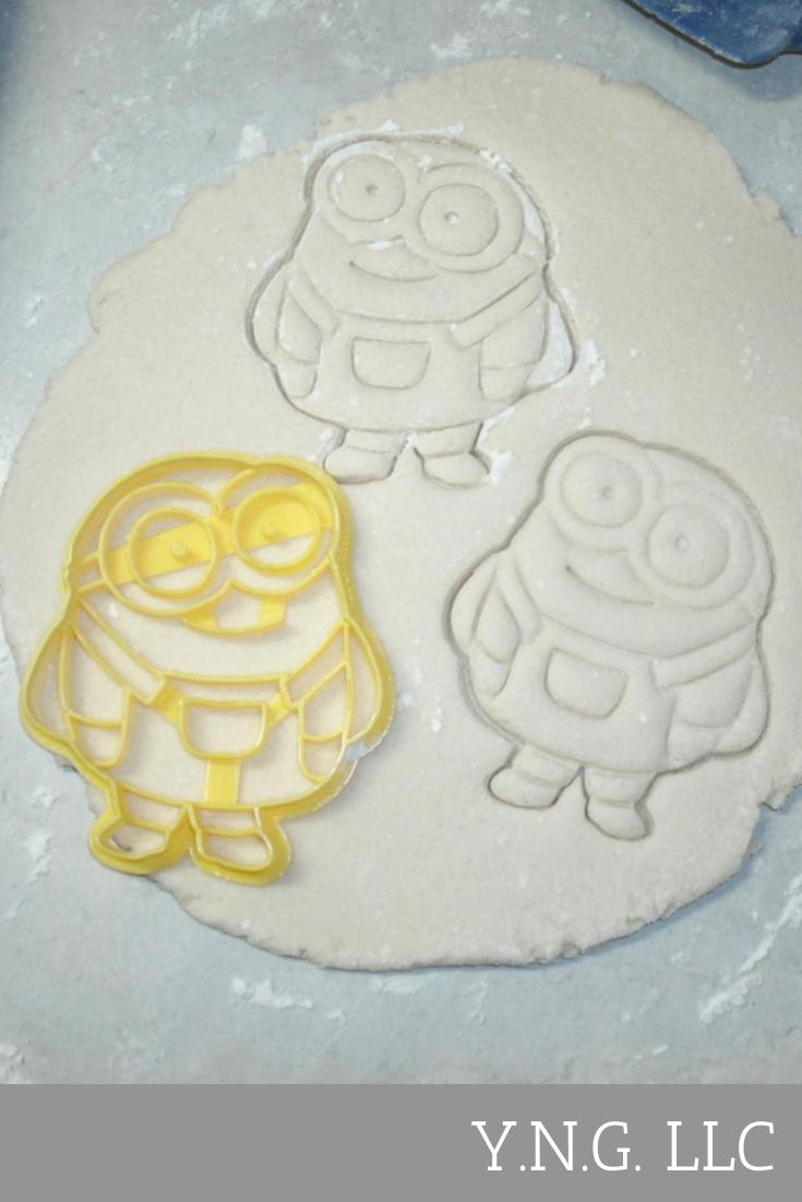 Despicable Me Minion Character Baking Tool Cookie Cutter USA PR427