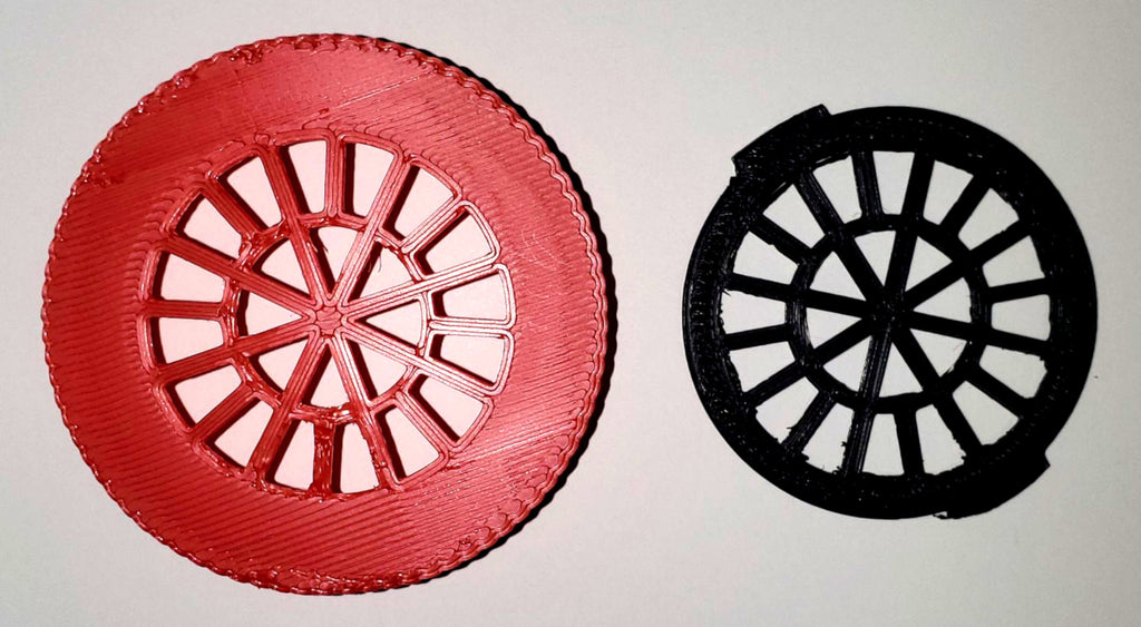 Filter Insert and Housing Cover for Face Mask ( RED ) Made in USA PR3529