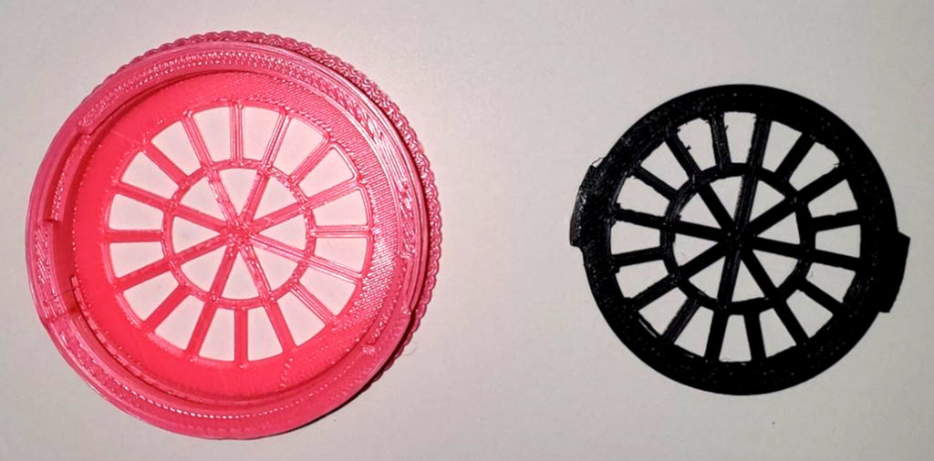 Filter Insert and Housing Cover for Face Mask ( PINK ) USA PR3533