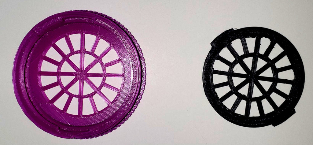 Filter Insert and Housing Cover for Face Mask ( PURPLE ) USA PR3534