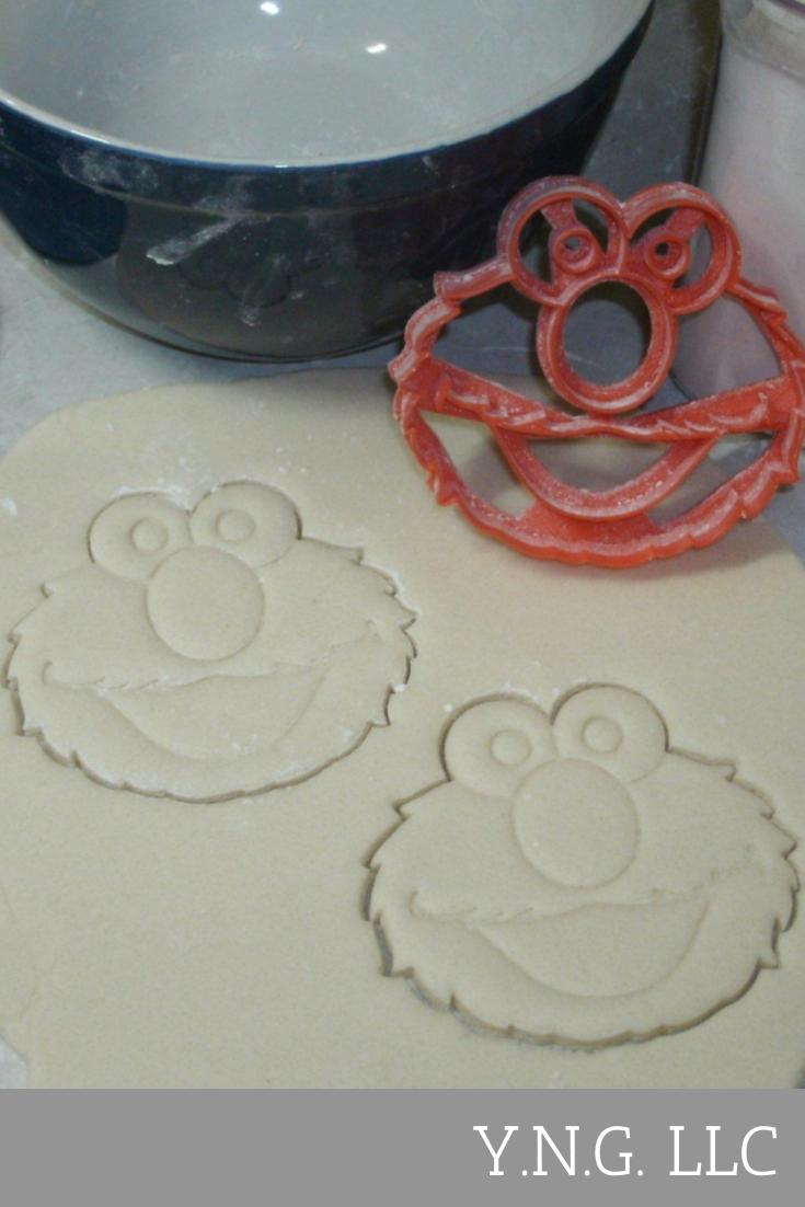 Sesame Street Muppet Character Faces Set Of 10 Cookie Cutters USA PR1176