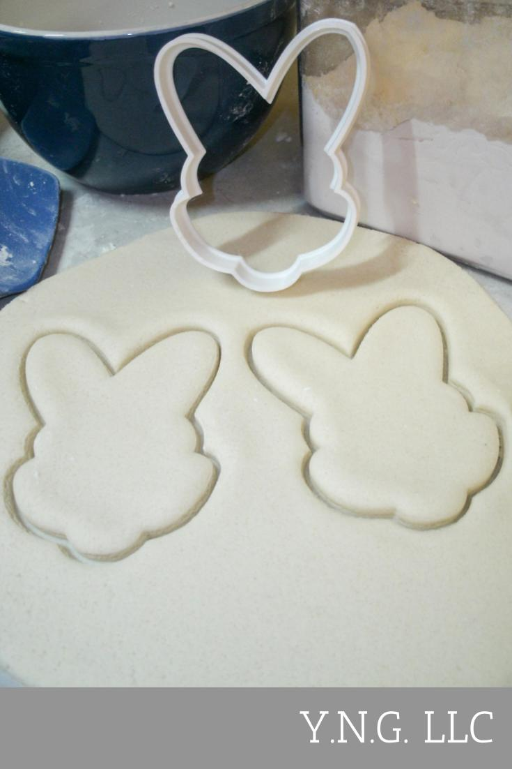 Easter Pascha Celebration Spring Egg Basket Bunny Ears Rabbit Chick Butterfly Tulip Flower Carrot Resurrection Sunday Set Of 10 Special Occasion Cookie Cutter Baking Tool Made In USA PR1177