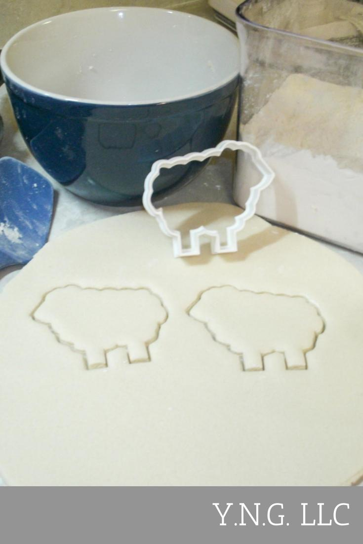 Easter Lamb Of God Spring Holiday Sheep Special Occasion Cookie Cutter Baking Tool Made In USA PR219