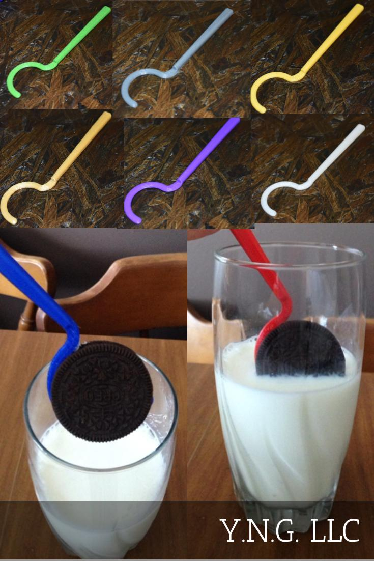 Black Oreo Cream Filled Cookie Dipper Kitchen Utensil Tool 3D Printed USA PR3288