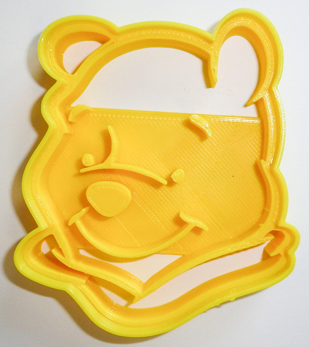 "Winnie the Pooh Disney Character Special Occasion Fondant Stamp Cutter or Cupcake Topper Size 1.75"" Made in USA FD455"