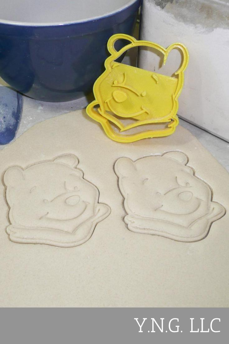 Winnie the Pooh Disney Character Special Occasion Cookie Cutter Baking Tool Made in USA PR455