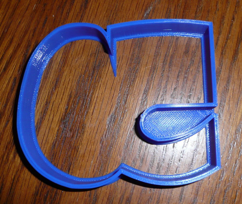Number 50 Fifty Anniversary Birthday Sports Cookie Cutter USA PR108-50